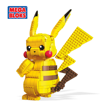 MEGA BLOKS Toy Pokemon Series Building Blocks Pokemon Giant Pikachu Pocket Monsters Kids Toys Christmas Gift FVK81 2