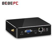 Bebepcミニpcインテルコアi7 6567U 7500U i3 7100U i5 7200U 4 18k hdグラフィックス620 hdmi wifiクーラーファンデスクトップゲームコンピュータ