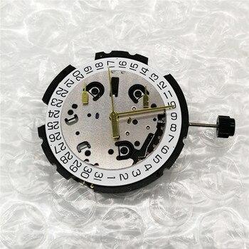  Watch Movement Swiss ETA G10.211 Quartz With Stem & Battery 6 Pin Date At 4' Watch Repair Parts