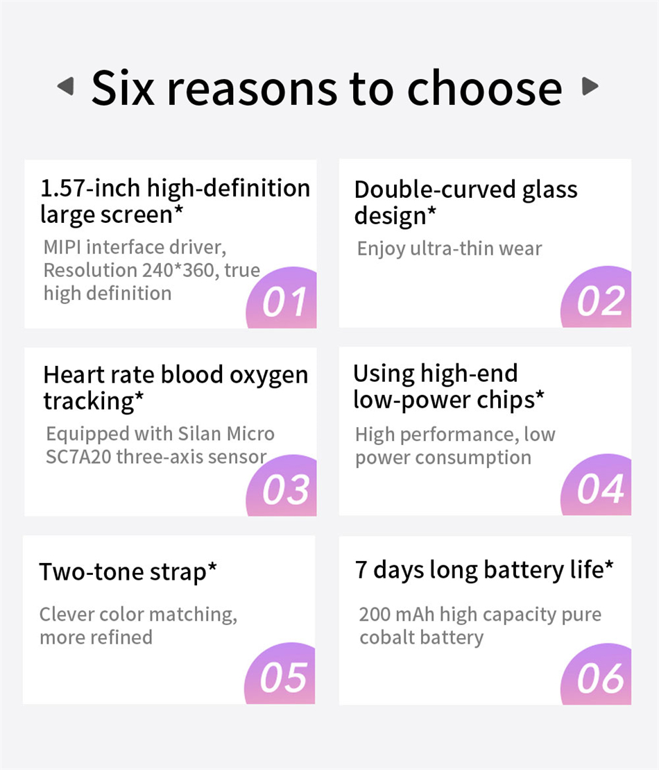 Hffa426213f594753adfb43df5faca74fn New Smart Band Watch Fitness Tracker Bracelet Waterproof Smartwatch Heart Rate Monitor Blood Oxygen LED Screen For Huawei Xiaomi