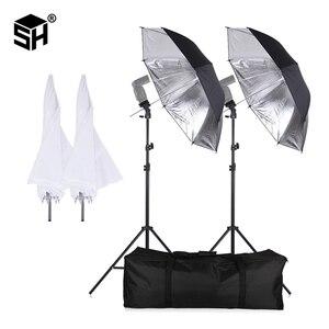 Image 1 - SH 플래시 ShoeMount 회전 소프트 우산 키트 사진 라이트 스탠드 및 홀더 타입 B