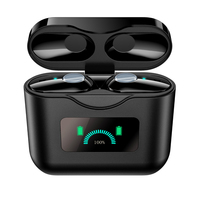 TWS Wireless Bluetooth Earphones ANC Active Noise Cancelling Wireless Headphone IPX7 Waterproof Touch Control Earbuds Headset