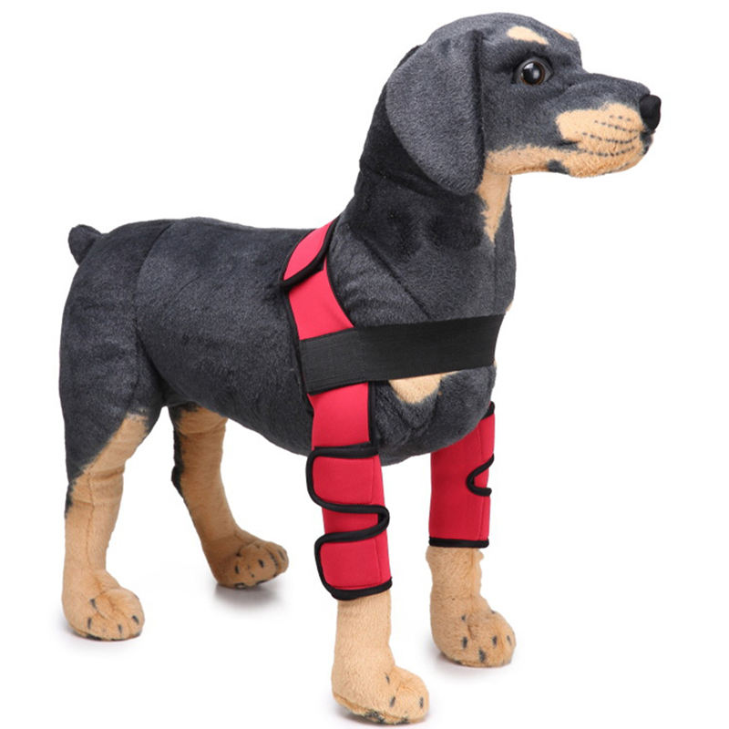 Pet Products Dog Elbow Protector Sleeve Elbow Pad Dog Canine Leg Hock Joint Protection Wounds with Bandage Wrap Heals Sprains thumbnail