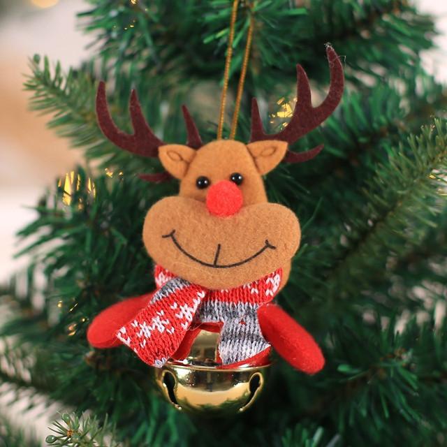 New Year 2020 Cute Santa Claus/Snowman/Angel Christmas Dolls Noel Christmas Tree Decoration for Home Xmas Navidad 2019 Kids Gift 67