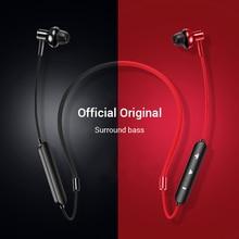 Auriculares con Bluetooth 4,2, auriculares inalámbricos magnéticos con banda para el cuello, auriculares estéreo deportivos manos libres para huawei, Samsung, Xiaomi con micrófono