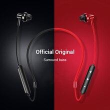 Bluetooth 4.2 kulaklık kablosuz manyetik boyun bandı kulaklıklar Handsfree spor Stereo kulaklık için huawei Samsung Xiaomi için MIC ile