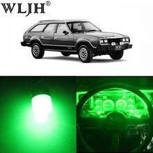 WLJH zestaw wskaźników wskaźnik panelu prędkościomierz obrotomierz klastra 12V pełna Dash LED zestawy oświetleniowe dla Jeep Cherokee XJ 1984- 2001