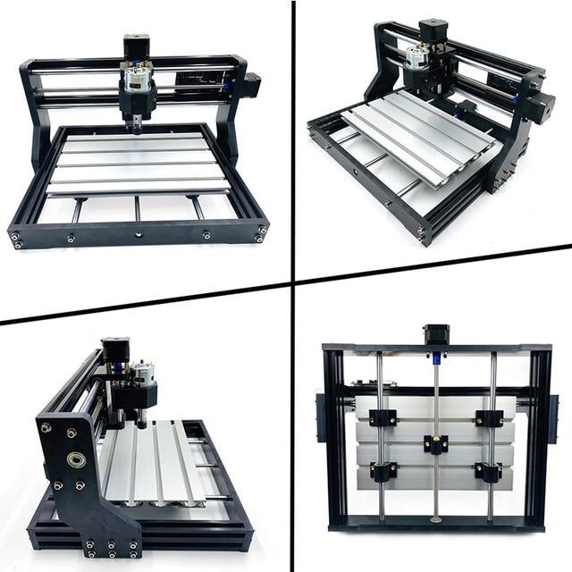 CNC 3018 PRO Laser Engraver With ER11 CNC Router GRBL For Hobby DIY Engraving Machine Wood PCB PVC Mini CNC3018 Engraver Russian