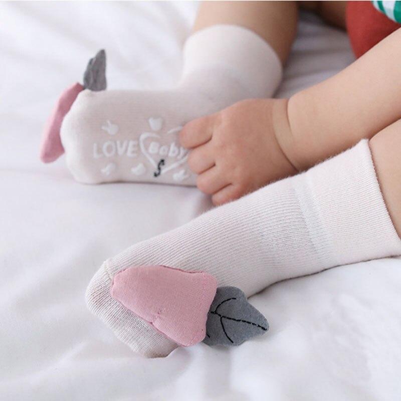 New Baby Anti Slip Socks Infant Anti Slip Kids Cute Fruit Child Floor Soft Boys Girls Socks Spring Summer Autumn