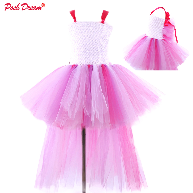 New Baby Girls Gothic Fairy Black Purple Satin Floral Lace Web Petal Tutu Skirt