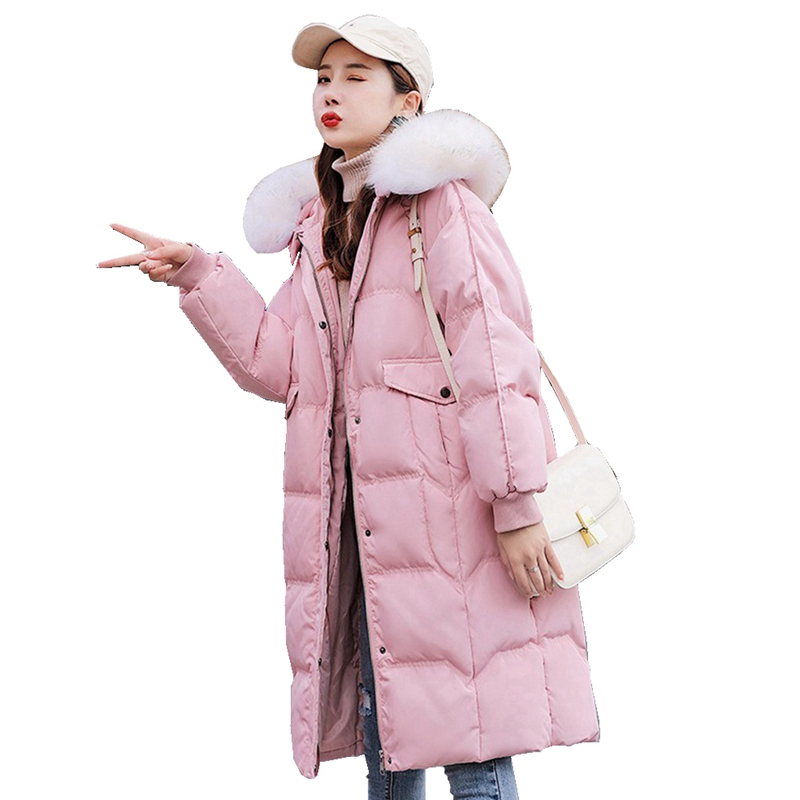 Winter Women Parkas   Down     Coat   Jacket 80% Duck   Down   Raccoon Fur Hoody Lady Winter Outerwear   Coats   LF9134