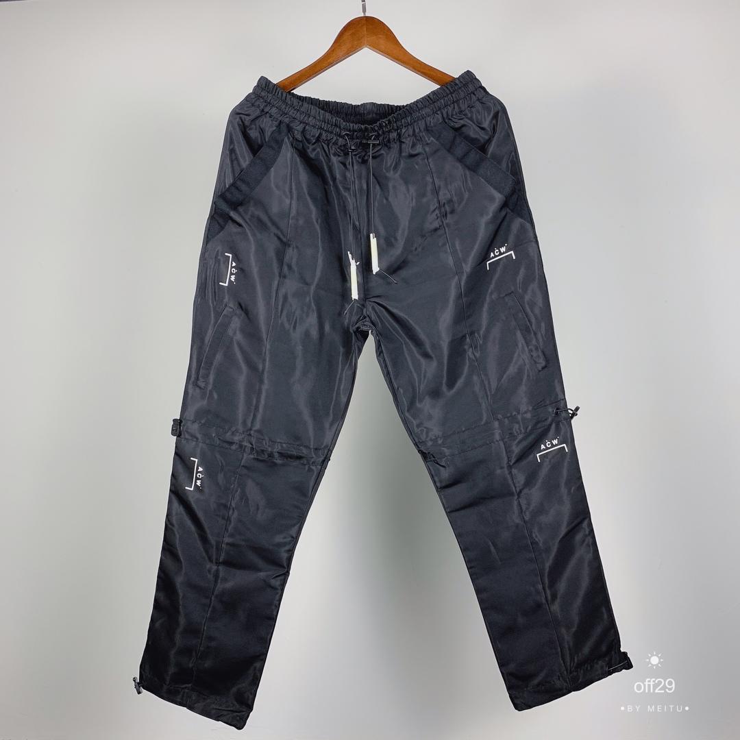 19SS A froid mur pantalon hommes femmes top version cordon survêtement survêtement Streetwear hip-hop ACW pantalon A-COLD-WALL pantalon hommes