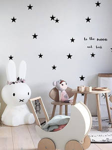 Baby Nursery Bedroom Stars Wall Sticker For Kids Room Home Decoration Children Wall Decals