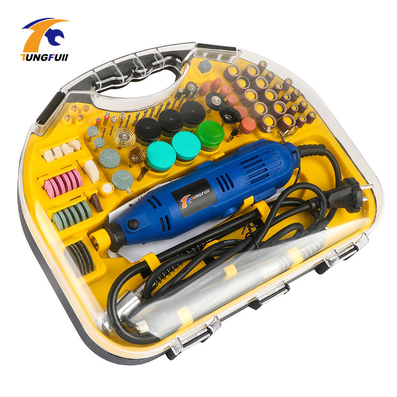 110V/220V Electric Mini Drill Rotary Tools Kit Set For <font><b>Dremel</b></font> 3000 <font><b>4000</b></font> Hand Metalworking Drilling Machine Polishing Power Tool image