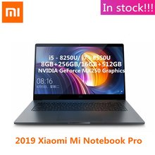 2019 Xiaomi Mi Notebook Pro Mi Laptop 15.6 Inch Win10 Intel Core I5-8250U GeForce MX250 8GB/16GB RAM 512GB SSD PC(China)