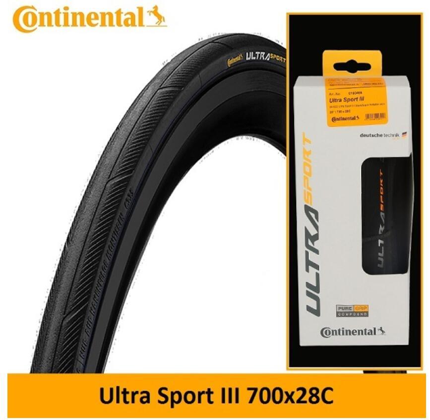 Continental Road Tire ULTRA SPORT 3 Clincher Tires 700C 23C/25C/28C Road Bike Tires Foldable Tire Bike Tire