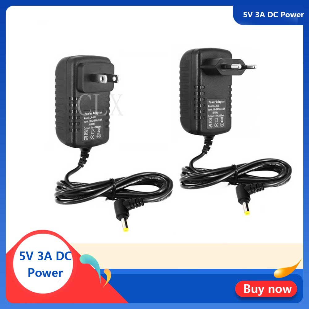 5V 3A Power Supply For Orange Pi PC / Plus DC 4.0 Mm EU US Power Charger Adapter For Orange Pi PC Plus 2