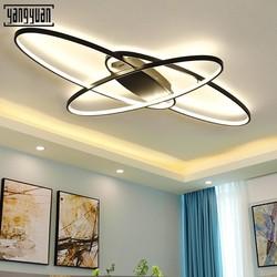 Nowoczesne lampy sufitowe LED salon sypialnia jadalnia lampa akrylowa oprawa lampa LED lampy sufitowe