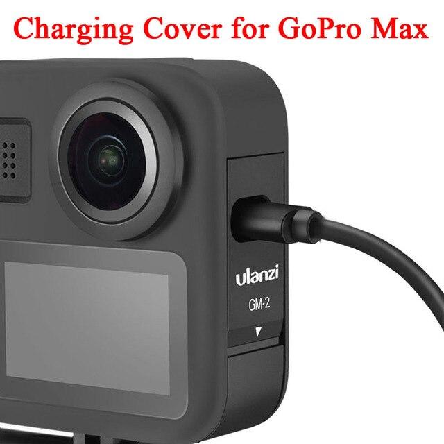 Защитный чехол для зарядки Gopro Max со сменным аккумулятором, входным портом Type C для камеры GoPro Max, комплект аксессуаров
