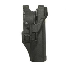 Military LV3 Tactical Glock 17 Gun Holster Right Hand Gun Case For Hunting Airsoft Glock 17 19 22 23 31 32 Pistol Belt Holster