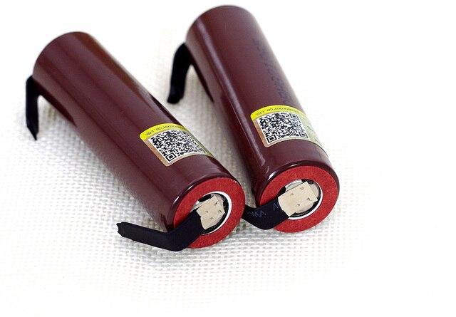 Liitokala new HG2 18650 3000mAh battery 18650HG2 3.6V discharge 20A, dedicated For hg2 batteries + DIY Nickel 2
