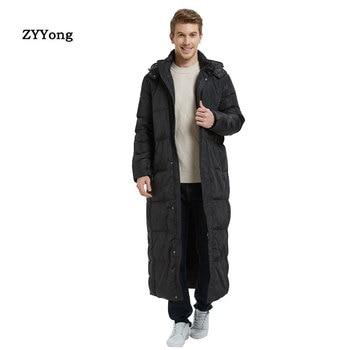 2020 Men's Super Long Coat Winter Knees Long Section Thick Large Size High-end Business Men's Outdoor Winter Jacket Size S-5XL