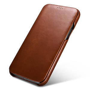 Image 4 - Original ICARER Genuine Leather Case For iPhone 11/ Pro/ Max Luxury Flip Cover Case For Apple iPhone 11 Pro Max Original Cases
