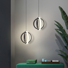 Nordic LED Pendant Lamp for Bedroom Bedside Home Fashion Small Hanging Chandelier in the Living Room Kitchen Cafe Lighting