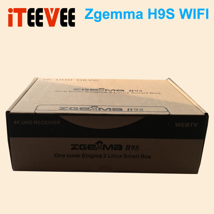 HOT SALE] Zgemma Star 1pcs/lot DVB S2X Multistream 4K UHD