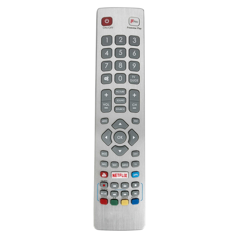 ALLIMITY BLF//RMC//0008 Fernbedienung Ersetzt f/ür Blaupunkt Full HD LED 3D Freeview TV