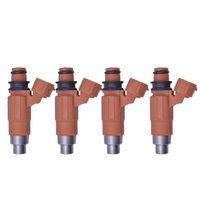 Set of 4 Fuel Injectors INP771 for Marine Yamaha Outboard Mitsubishi 115HP