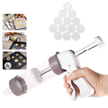 Biscuit-Maker-Machine Cookie-Press-Kit Piping-Cream Pastry Home-Tools Icing Muffin Gun