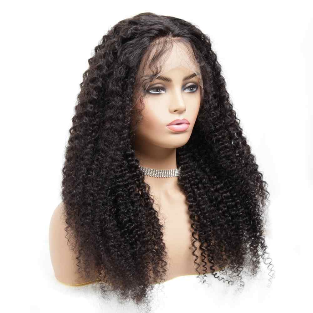 360 Lace Frontal Wig Pre Plucked Remy Curly Brazilian Hair Real Elite Human Hair For Black Women Frontal Ponytail Near Me Zsilky