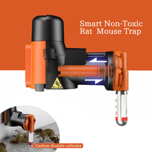 Fully Automatic Intelligent Rodent Killer Portable Non-toxic Pneumatic Mousetrap CO2 Gas Cylinder Indoor Household Simple