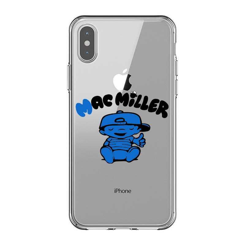 Macs Miller чехол силиконовый мягкий чехол для iPhone X Rapper чехлы-накладки для iPhone 5 5S SE 6 6SPlus 7 8 Plus XR XS MAX