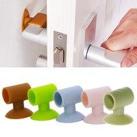 Силиконовая ручка для дверных ручек  1 шт.  Накладка для стенок бампера  защита от столкновений  Прямая поставка