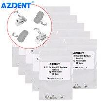 AZDENT – Tube orthodontique dentaire Roth/MBT 022, 10 paquets, avec crochet coulissant à sertir, 1ère Mola, simple à coller, Non convertible