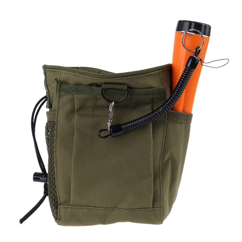 Metal Detecting Pouch Bag Digger Supply Treasure Waist Luck Recovery Finds Bag Pinpointer Shovel Metal Detector Bag