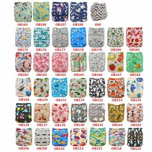 Cloth Diapers Newborn Nappy-Cover Cover-Pattern Adjustable 3-15kg Soft 20-Pack Suit Printed