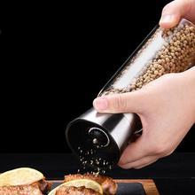 Seasoning-Bottle Sea-Salt-Pepper-Grinder Stainless-Steel Hot-Sales Manual Home Adjustable