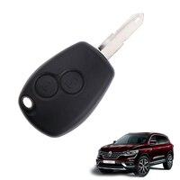 2 כפתור מרחוק נימול מפתח Fob כיסוי Case Shell החלפה עבור רנו 1Pcs-בכיסוי למפתח מתוך רכבים ואופנועים באתר