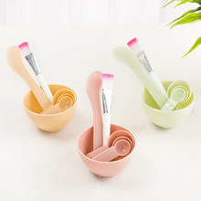 New Face Mask Bowl Set Facial Beauty Cosmetic Makeup Mixing Tool with Brush Mixed Stir Spatula Stick Spoon Kit Tools(China)