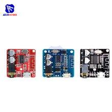 Diymore mini bluetooth 4.1/ 5.0 mp3 módulo amplificador sem perdas micro usb 3.5mm amplificador de saída de áudio placa para carro auto