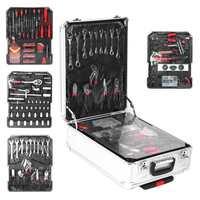 799 Uds herramienta de reparación de automóviles Set de fundas alicates de llave destornillador coche Kit de reparación de herramientas herramienta Kit de reparación con mango telescópico