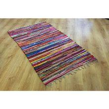 Tapetes com franjas 90x150 cm tapetes turcos nostálgico decoração para casa sala de estar tapete algodão tapetes persas naturais padrão