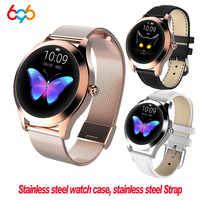 KW10 KW20 Smart Uhr Frauen 2018 IP68 Wasserdicht Herz Rate Überwachung Bluetooth Für Android IOS Fitness Armband Smartwatch