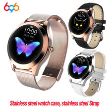KW10 KW20 Smart Watch Wanita 2018 IP68 Tahan Air Heart Rate Monitoring Bluetooth untuk Android IOS Kebugaran Gelang Smartwatch(China)