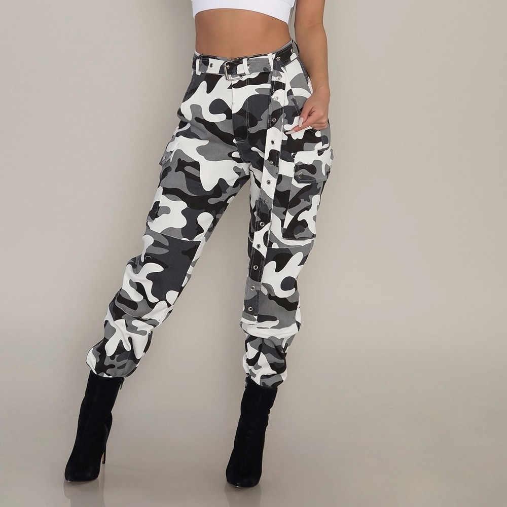 Nuevos Pantalones Cargo Camo Para Mujer Pantalones Casuales De Camuflaje De Combate Militar Pantalones Deportivos Pantalones Militares Mujer Pantalones Y Pantalones Capri Aliexpress