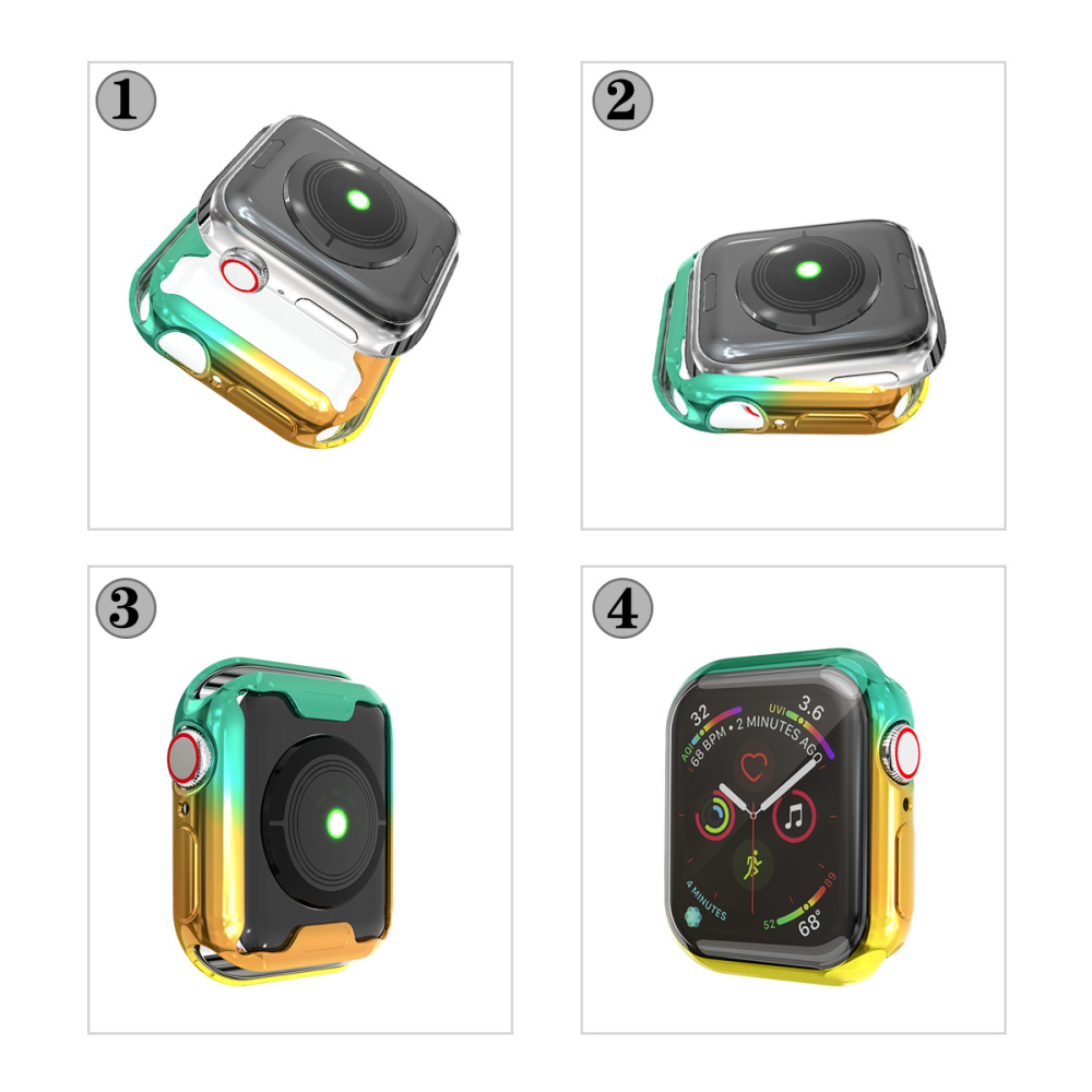 SuperColor Case for Apple Watch 43