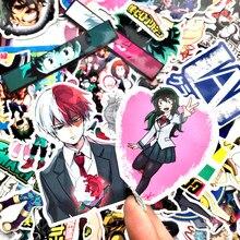 70 pçs meu herói academia anime adesivos bomba popular mala portátil skate adesivo pacote boku nenhum herói academia